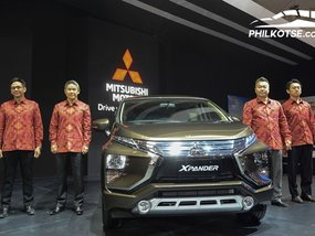 Mitsubishi Xpander new variant & e-Evolution Concept showcased at GIIAS 2018