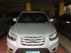 2011 Hyundai Santa Fe Silver For Sale