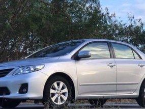 2012 Toyota Corolla Altis Silver For Sale