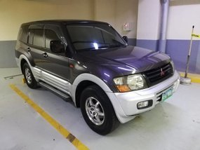 2004 Mitsubishi Pajero Purple For Sale