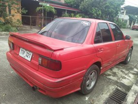 1995 Nissan Sentra LEC Red For Sale