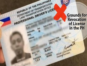 6 main causes and effects for driver's license revocation in the Philippines