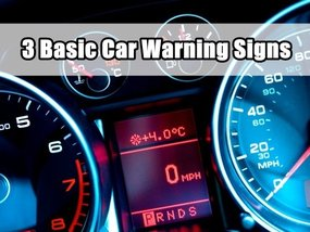 Basic Car Warning Signs You Should Know By Heart