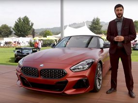 BMW Z4 2019 revealed at the 2018 Pebble Beach