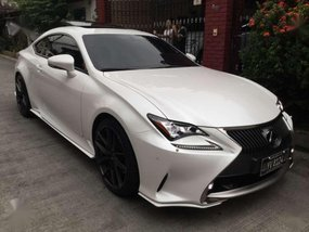 Good as new Lexus RC350 2016 for sale