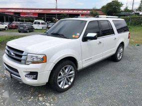 2016 Ford Expedition Platinum V6 EcoBoost Top of the Line Variant!