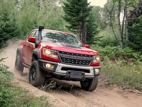 Chevrolet Colorado ZR2 Bison 2019 added with extra off-road gear