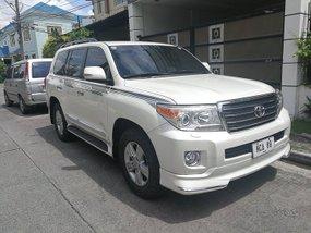 2014 Toyota Land Cruiser 200 White For Sale