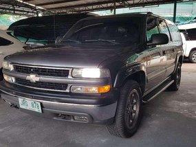 2002 Chevrolet Suburban LT Gray SUV For Sale