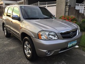 Mazda Tribute 2004 Silver For Sale