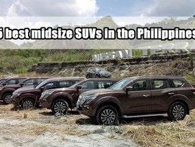 Top 5 best midsize SUVs in the Philippines in 2018