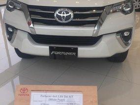 2018 Toyota Fortuner V Dsl White Pearl For Sale