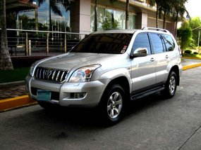 2005 Toyota Prado 4x4 Silver For Sale