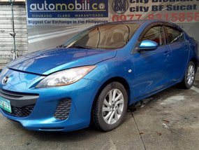 2013 Mazda 3 1.6L S Blue For Sale