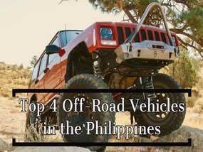 The Top 4 Off-Road Cars in the Philippines