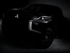 Mitsubishi Strada 2019 facelift teased, revealing Dynamic Shield design