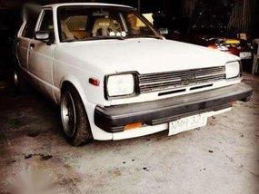 Toyota Starlet 1981 model old but Gold
