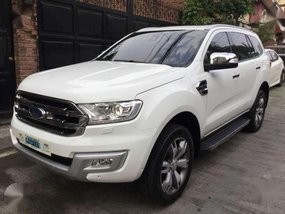 2016 Ford Everest 3.2 titanium sunroof 4x4
