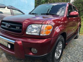 2003 Toyota Sequoia AT FOR SALE