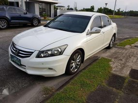 Honda Accord 2012 model 2.4L White Pearl Automatic
