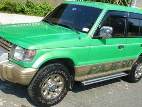 1994 Mitsubishi Pajero 4x4 Green For Sale