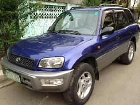 1999 TOYOTA RV4 Blue For Sale