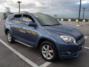 2006 Toyota Rav 4 4x4 GAS A/T Blue For Sale