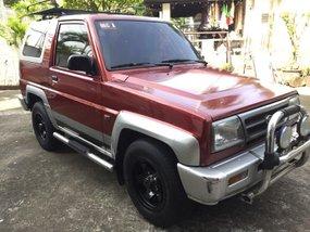 1999 Daihatsu Feroza SE Red For Sale