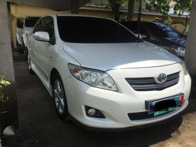 2010 Toyota Altis 1.6V pearl white FOR SALE