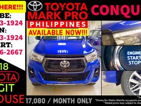 2019 Available now Call 09988562667 Brand New Casa Sale Toyota Hilux Conquest 4x2 Diesel AT
