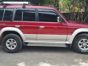 Mitsubishi Pajero Red 1996 For Sale