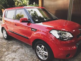 Kia Soul 1.6 LX AT 2011 Red For Sale