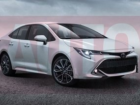 12th-generation Toyota Corolla sedan scheduled to be launched in late 2018