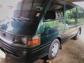 2002 Toyota Hiace commuter FOR SALE