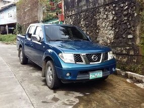 2008 Nissan Navara LE Blue For Sale