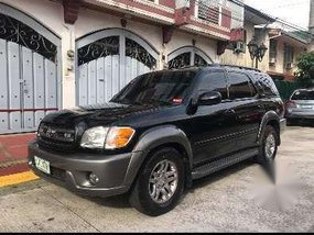 2003 Toyota Sequioa bullet proof AT FOR SALE