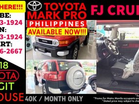 2019 Brand New Toyota FJ Cruiser AT - Call 09177131924