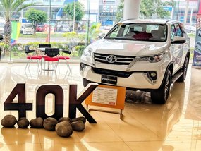 2018 Toyota Fortuner White For Sale