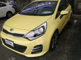 2016 Kia Rio Yellow For Sale