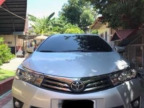 Toyota Corolla Altis 2014 G Manual Silver For Sale