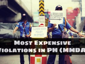 7 Most Expensive Fines for Traffic Violations in the Philippines (MMDA)