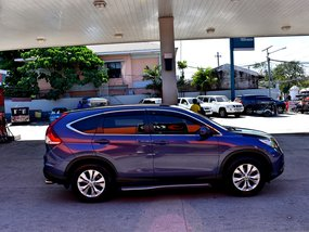 Selling Blue 2013 Honda Cr-V at 40000 km in Lemery