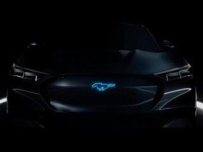 An electrified variant of the Ford Mustang teased?