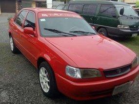 Toyota Corola love life glxe gli 1999