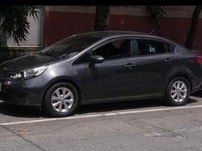 Kia Rio 2015 Gray Sedan For Sale