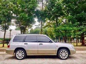 2002 Local SUBARU FORESTER all wheel Drive