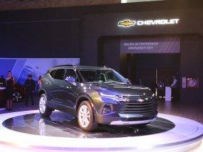 Chevrolet Blazer and Silverado 2019 premiered at Bogota International Motor Show