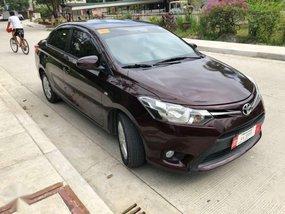 2018 Toyota Vios E Automatic blackish red very fresh