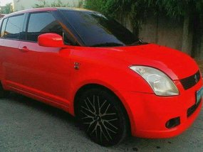 Suzuki Swift Red 2005 AT Rush for sale