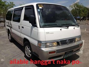 Nissan Urvan Escapade Van 2013 model Diesel engine Lucena City